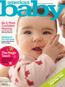 American Baby features my Gold & Quatrefoil Necklace