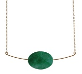 Floating Candy Jade Necklace