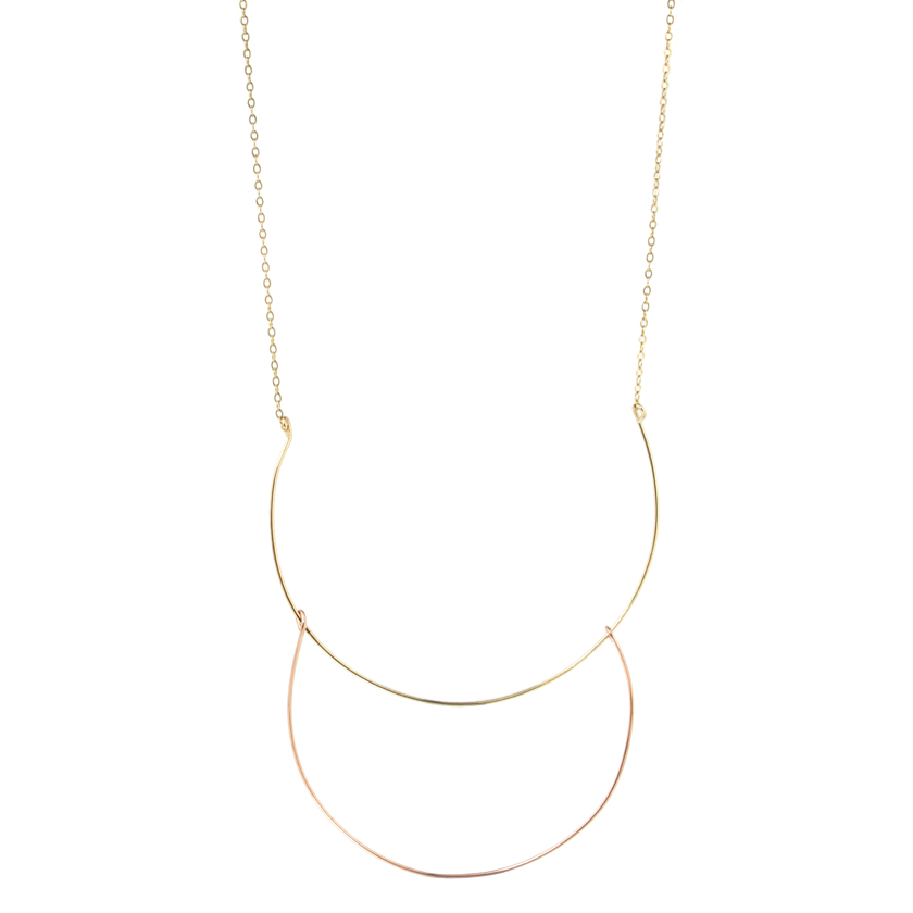 Double Arc Necklace