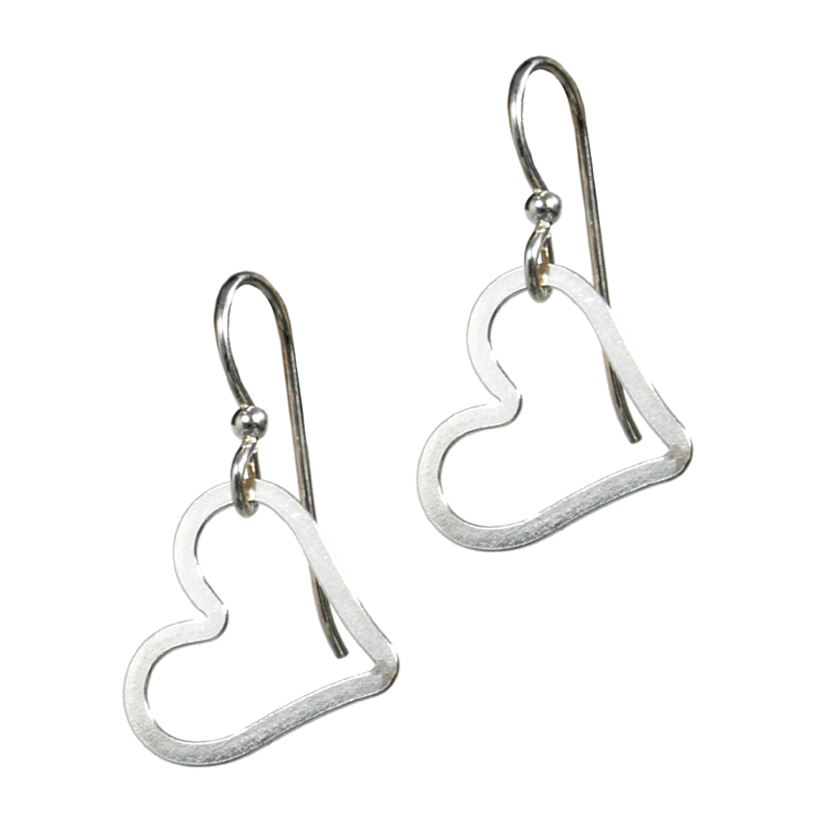 Teenie Heart Earrings