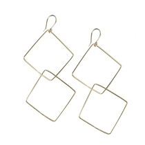 Square Interlocking Earrings
