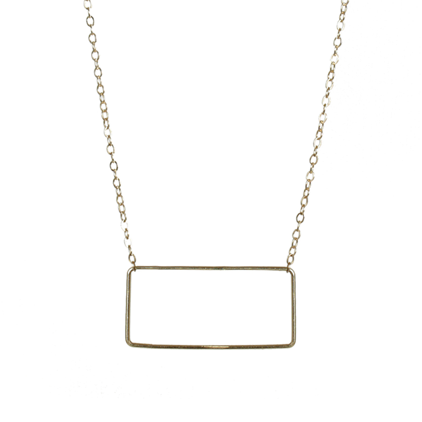 Signature Rectangle Necklace